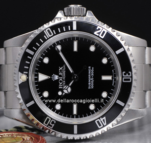 rolex submariner uhr 14060 schwarzes zifferblatt della. Black Bedroom Furniture Sets. Home Design Ideas