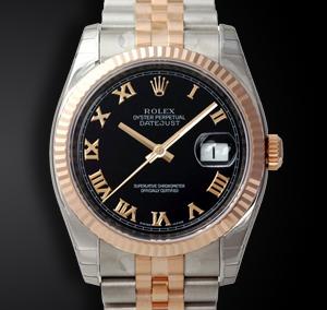 Rolex Acciaio E Oro Rosa