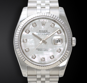 Rolex Datejust 116234 Jubilee Quadrante Madreperla