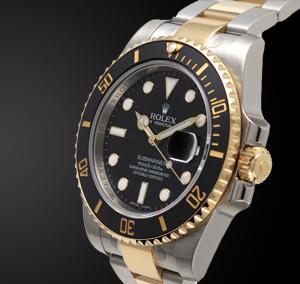 Rolex Nero Oro