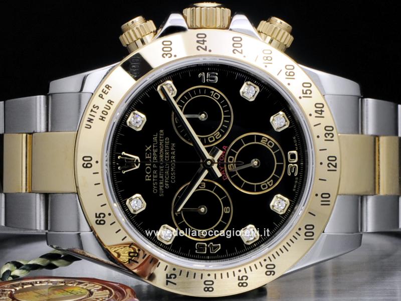 Rolex Daytona Cosmograph Diamanti 116523 Della Rocca