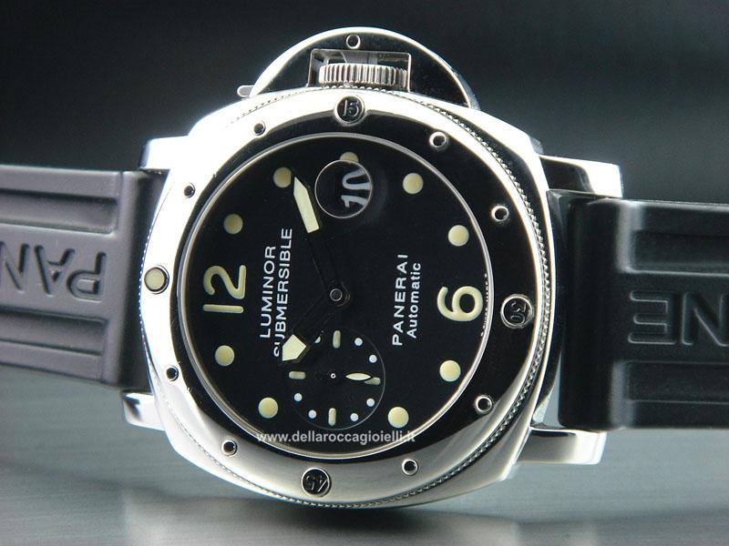 Officine panerai luminor submersible pam 24 della rocca for Officine panerai milano