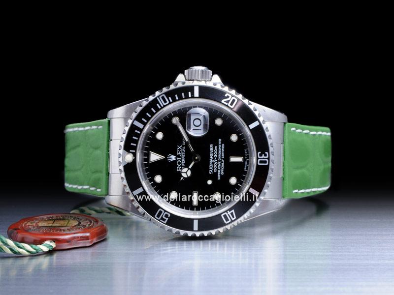 Rolex Submariner 16610 Cinturino Silicone Della Rocca