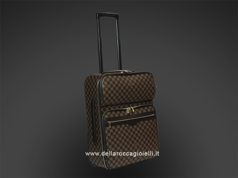 louis vuitton valigia trolley peegase 55 business della