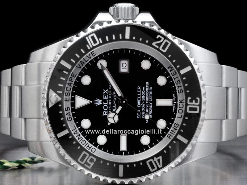 Rolex Sea Dweller Nero