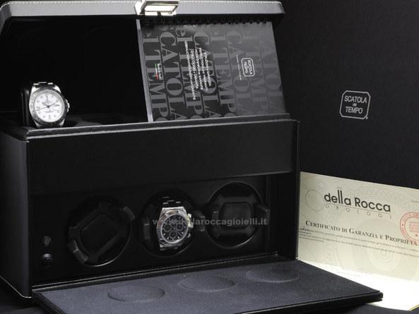Scatola per orologi di grandi dimensioni con 3 rotori e 4 for Orologi grandi dimensioni