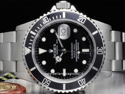 Rolex Submariner Data 16610 SEL Quadrante Nero