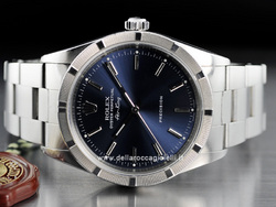 Rolex Air-King 14010M Oyster Quadrante Blu