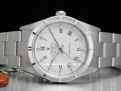 Rolex Air-King 14010M Quadrante Bianco Numeri Romani