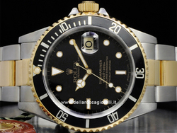 Rolex Submariner Data 16803 Oyster Quadrante Nero