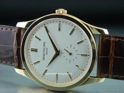 Patek Philippe Calatrava Gold Watch - Ref. 5196J