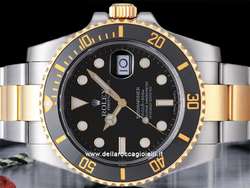 Rolex Submariner Data 116613LN Ghiera Ceramica Quadrante Nero