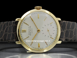 Patek Philippe Calatrava By Tiffany & Co. 584 Quadrante Bianco Perla