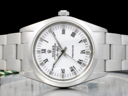 Rolex Air-King 14000 Oyster Quadrante Bianco Romani