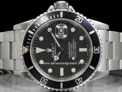 Rolex Submariner Data Transizionale 16800 Oyster Quadrante Nero Pallettoni