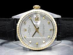 Rolex Date 1505 Quadrante Argento
