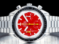 Omega Speedmaster Reduced Automatic 3510.61.00 Quadrante Rosso