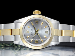 Rolex Oyster Perpetual Lady 67183 Oyster Quadrante Rodio 3-6-9