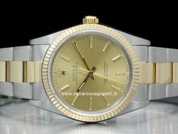 Rolex Oyster Perpetual 14233 Oyster Quadrante Champagne