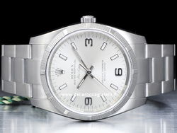 Rolex Air-King 114210 Oyster Quadrante Argento
