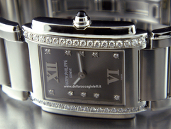 Patek Philippe Twenty-4 Stainless Steel Lady Watch with Diamonds - Ref. 4910