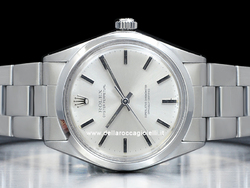 Rolex Oyster Perpetual 1002 Oyster Quadrante Argento