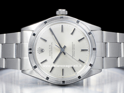 Rolex Oyster Perpetual 1007 Oyster Quadrante Argento