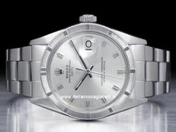 Rolex Date 1501 Oyster Quadrante Argento