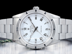Rolex Air-King 14010 Quadrante Bianco Romani