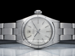 Rolex Oyster Perpetual Lady 6623 Oyster Quadrante Argento