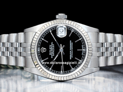 Rolex Datejust Medio Lady 31 78274 Jubilee Quadrante Nero