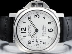 Officine Panerai Luminor Marina 8 Days NOS Pam 563 Quadrante Bianco Arabi
