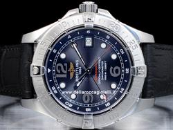 Breitling SuperOcean Steelfish GMT A32360 Quadrante Nero Arabi Edizione Limitata