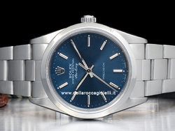 Rolex Air-King 14000 Oyster Quadrante Blu