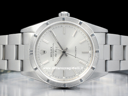Rolex Air-King 14010M Quadrante Argento