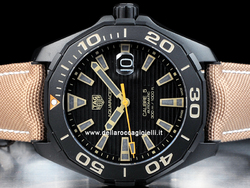 Tag Heuer Aquaracer Calibre 5 WAY208C Quadrante Nero