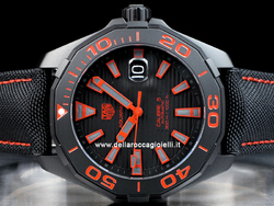 Tag Heuer Aquaracer Calibre 5 WAY208A Quadrante Nero