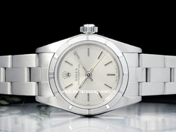 Rolex Oyster Perpetual Lady 67230 Oyster Quadrante Argento