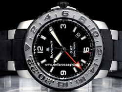 Blancpain Concept 2000 GMT 24 2250-6530-61 Quadrante Nero Trilogy Collection