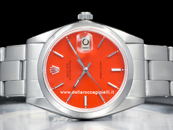 Rolex Oysterdate Precision 6694 Oyster Quadrante Rosso