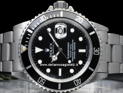 Rolex Submariner Data Transizionale 16800 Oyster Quadrante Nero
