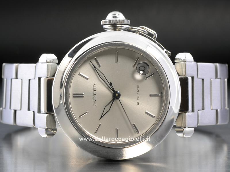 Cartier Pasha C Ref. Stainless Steel Watch W31010M7