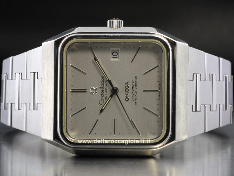 Omega Constellation Automatic Stainless Steel Watch 168.0062