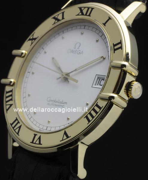 Omega Constellation Automatic Gold Watch 168 0075 Della