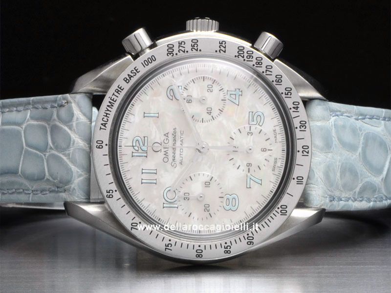 Omega Speedmaster Reduced Ladies Stainless Steel Watch 3802.72.55