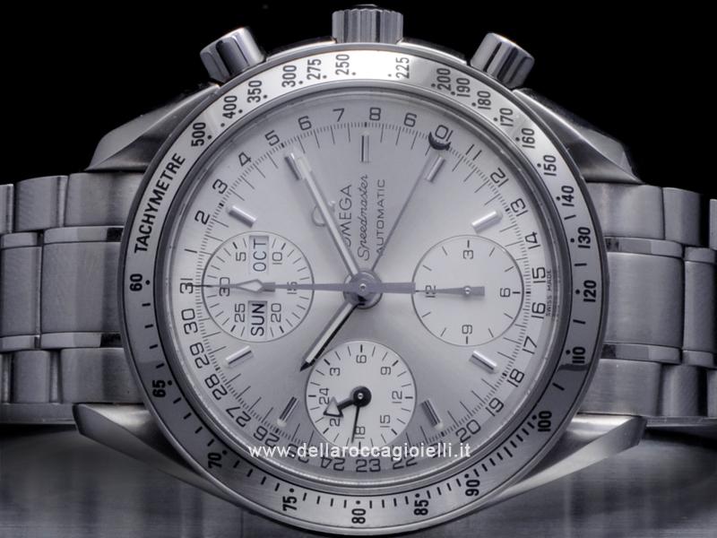 Omega Speedmaster Day-Date Stainless Steel Watch 3523.3000
