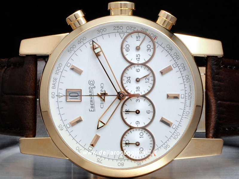 Eberhard & Co. Chrono 4 Rose Gold Watch 30058