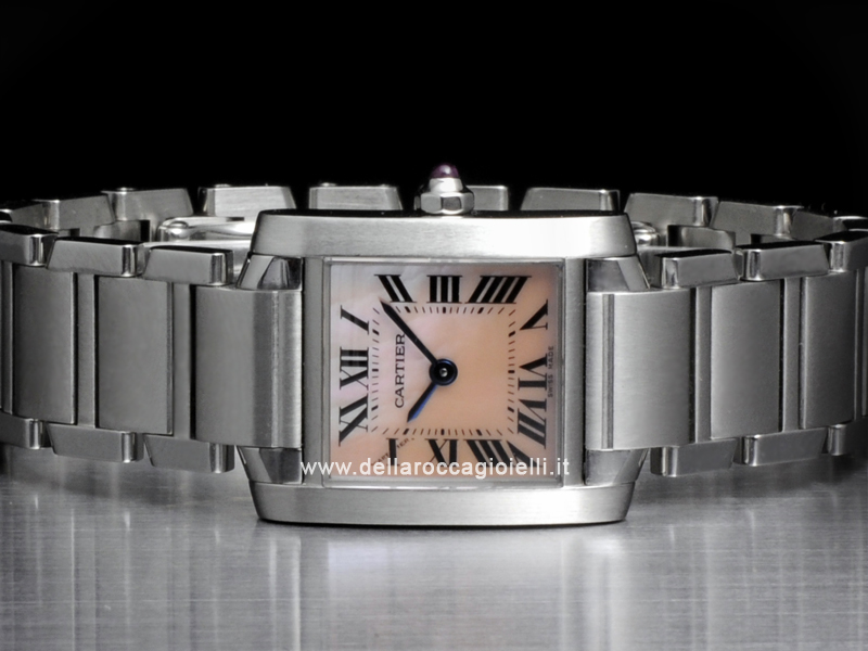 Cartier Tank Francaise Stainless Steel Lady Watch W51028Q3