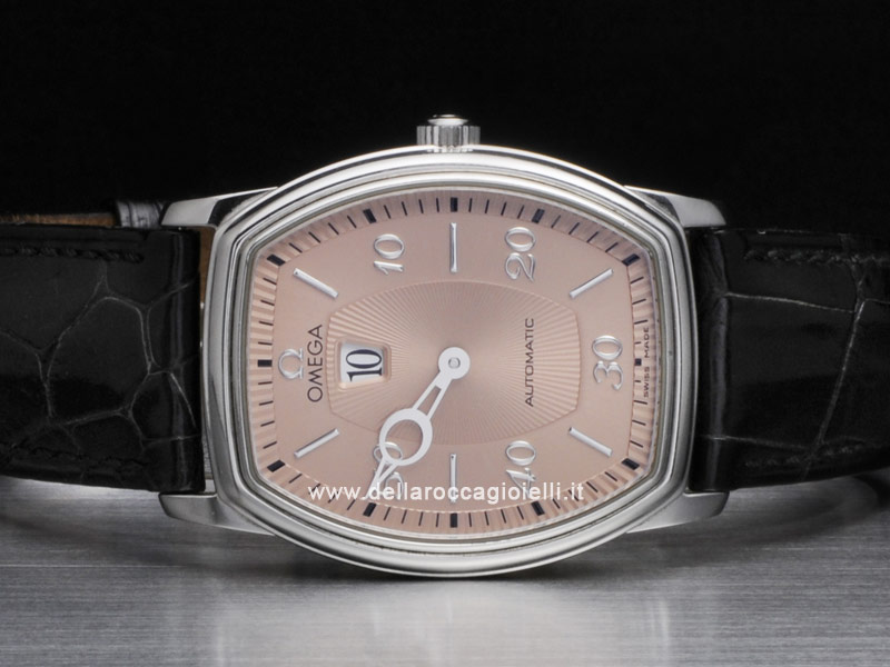 Omega De Ville Prestige Tonneau Saltarello Stainless Steel Watch 48536100