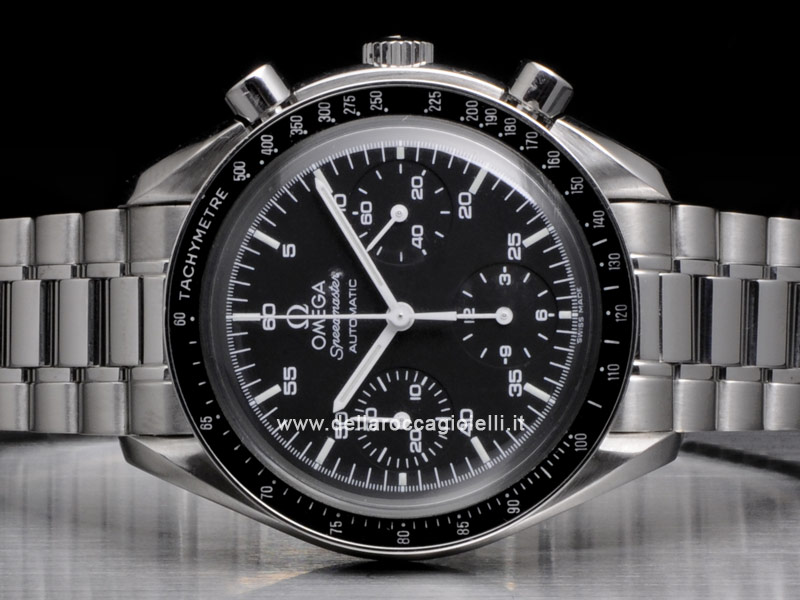 Omega Speedmaster Reduced Automatic Stainless Steel Watch 35105000